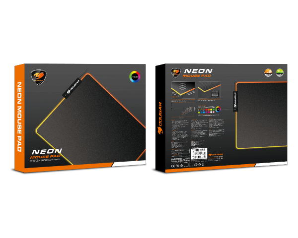 Cougar NEON RGB Mouse Pad 350x300x4mm